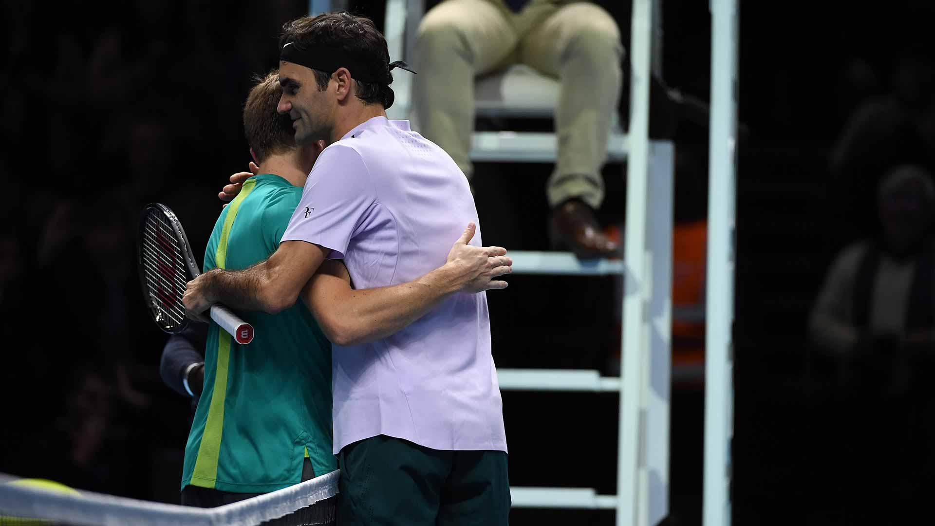 Federer Goffin Londres
