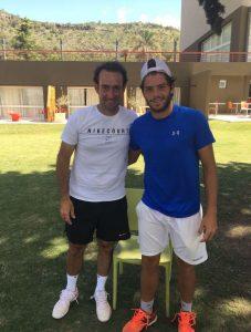 Facundo Juárez y Ale Posca