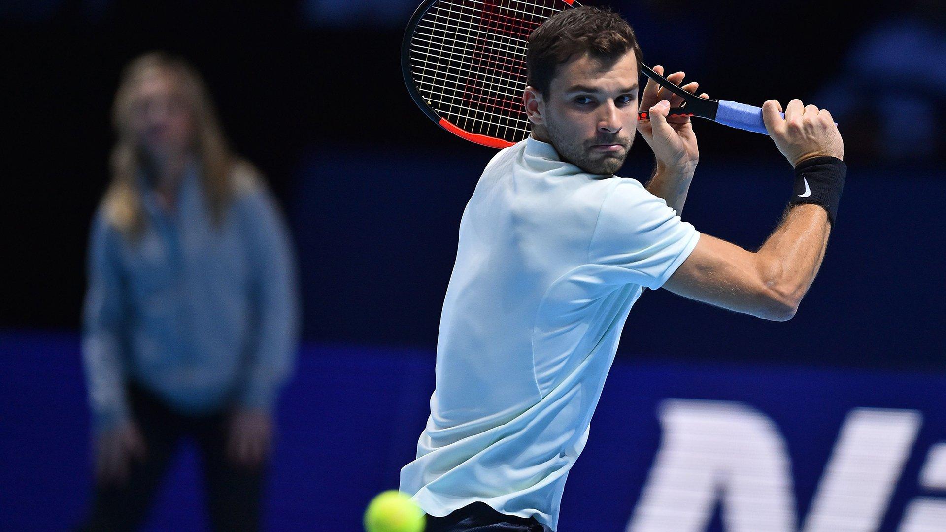 Dimitrov Nitto ATP Finals