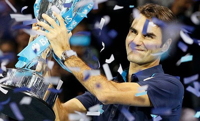 Jugadores con más títulos en las Nitto ATP Finals
