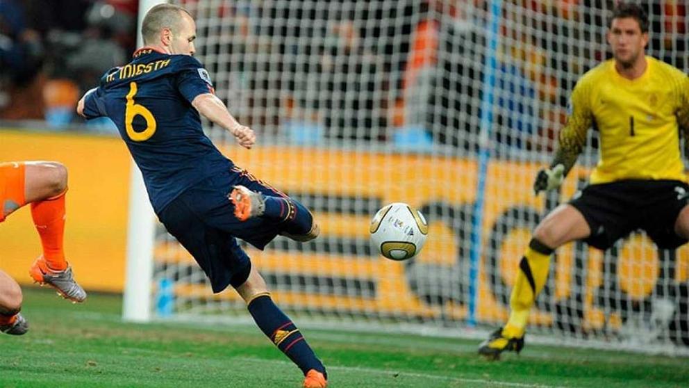 Iniesta gol Mundial