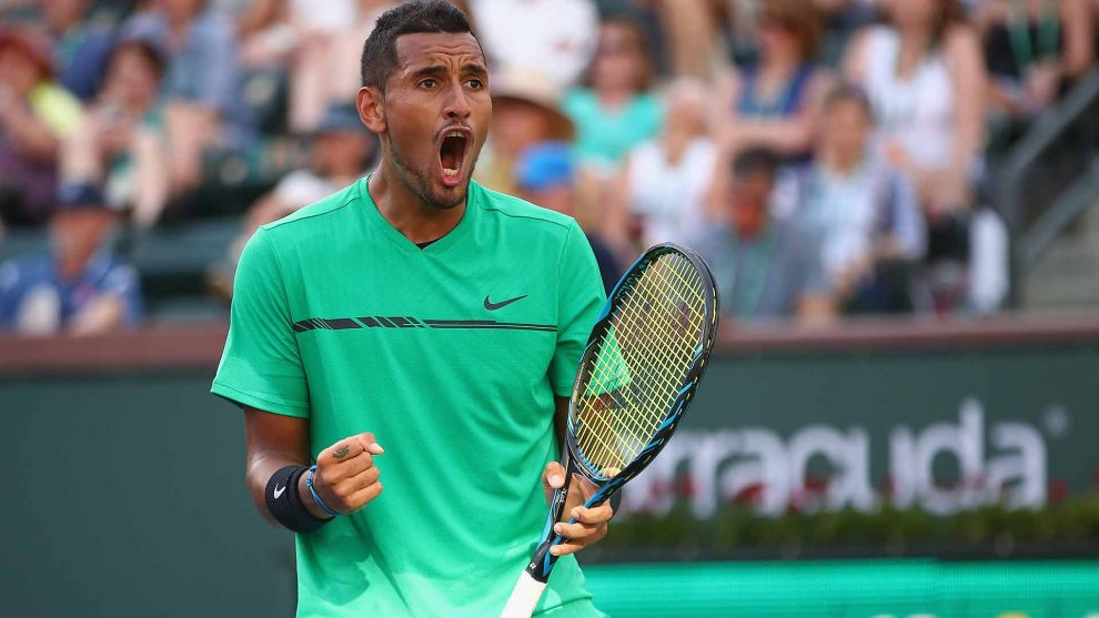 Nick Kyrgios Indian Wells