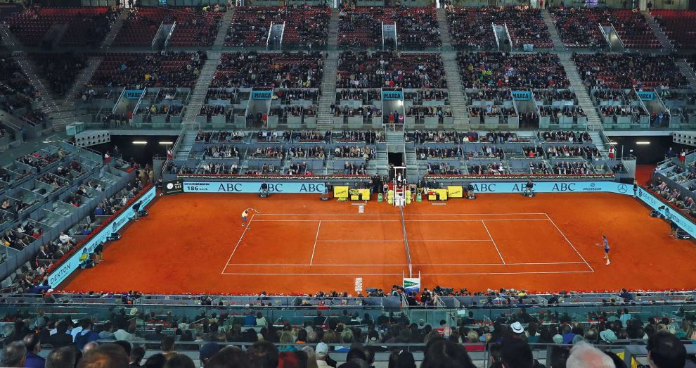Pista Central Masters 1000 Madrid