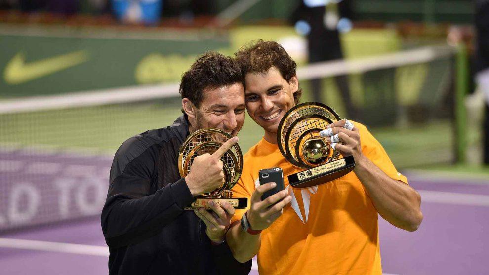 Rafa Nadal y Juan Mónaco