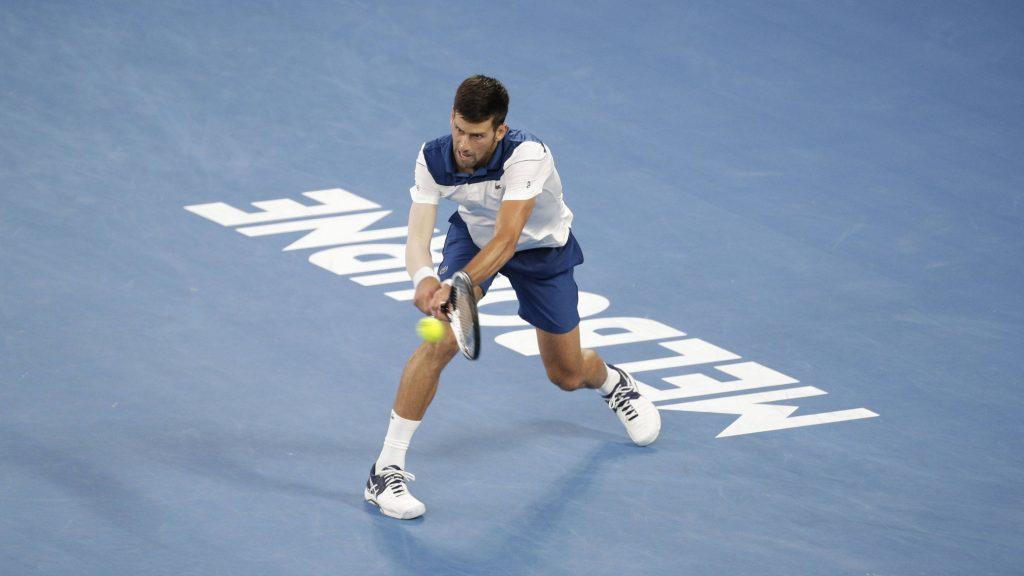 Djokovic Open de Australia 2018