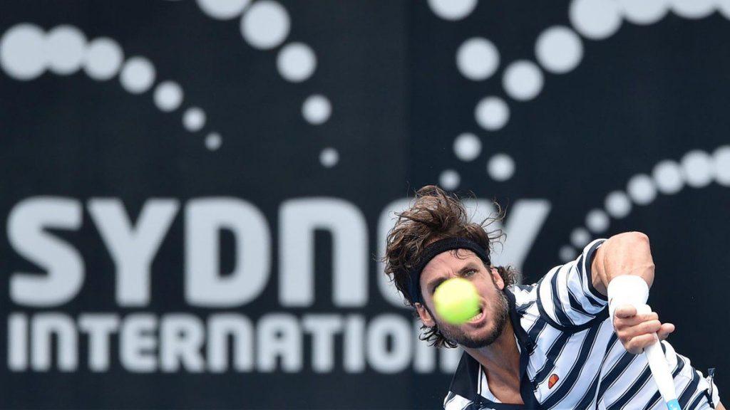 Feliciano López en el ATP Sidney