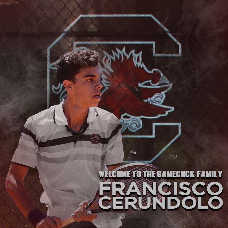 Fran Cerúndolo en la Universidad de South Carolina