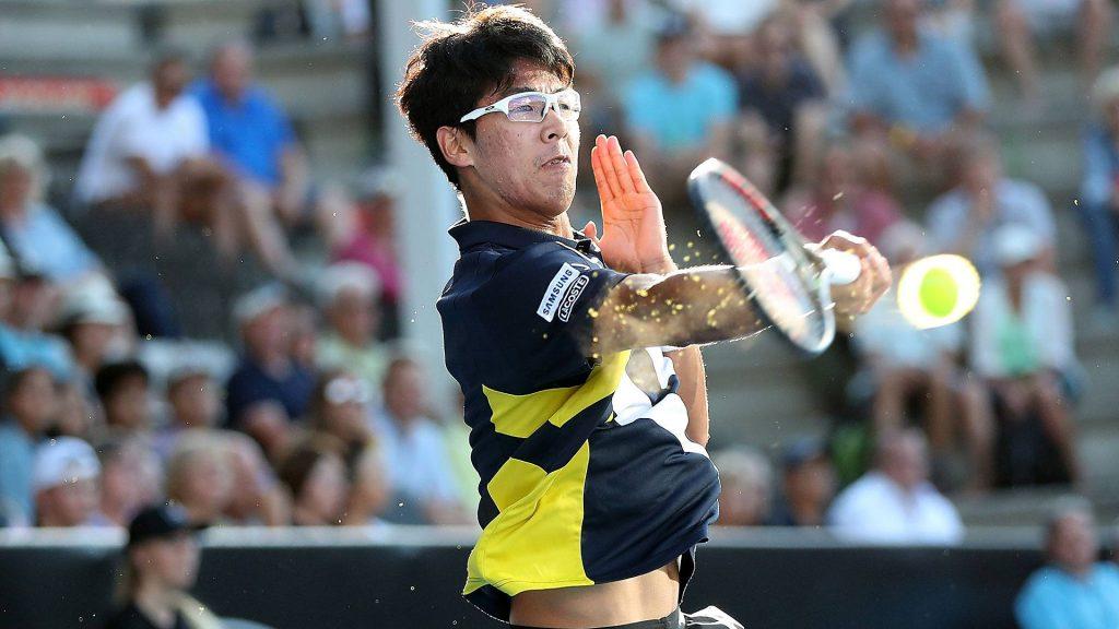 Chung en el ATP de Auckland