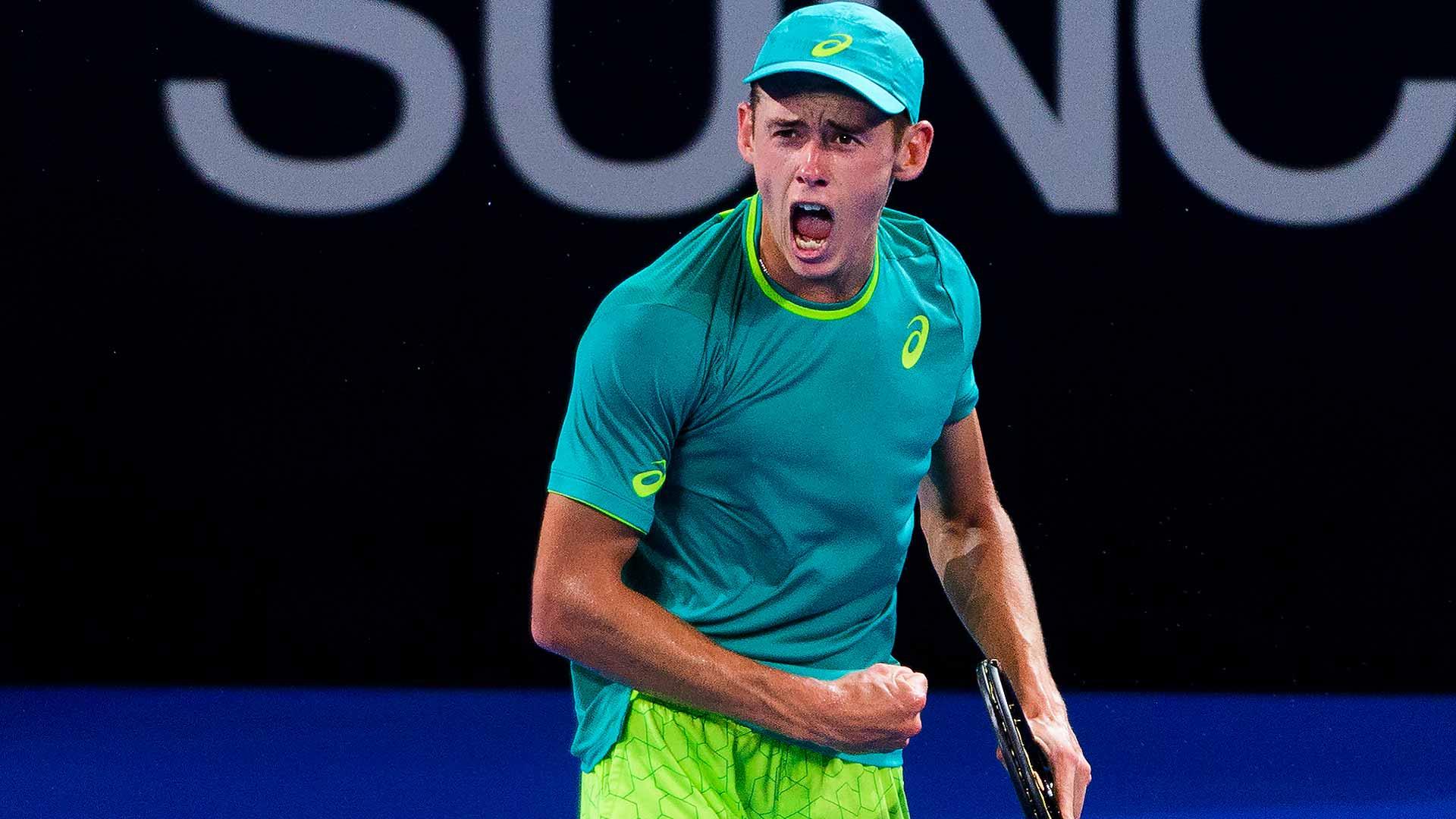 De Miñaur ATP Brisbane