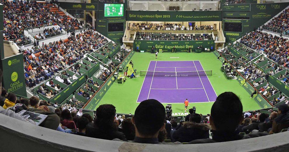 Pista central del ATP de Doha 250