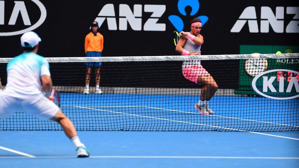 Nadal Schwartzman Open de Australia 2018