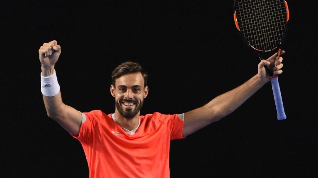 Marcel Granollers celebra una victoria