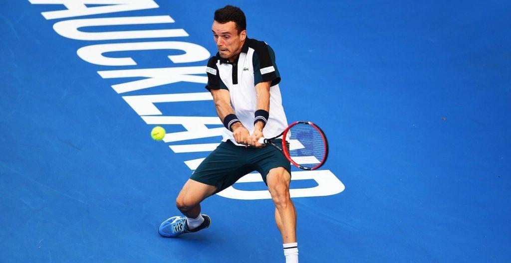 Roberto Baustista ATP Auckland