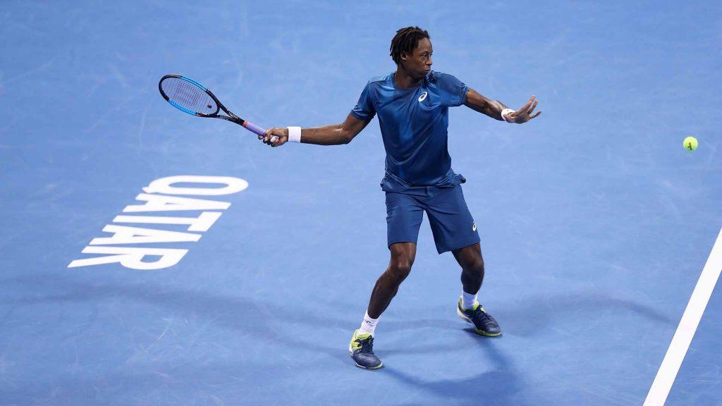 Monfils en el ATP Doha