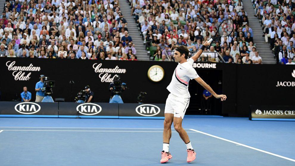 Roger Federer Open de Australia 2018