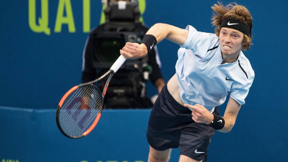 Andrey Rublev ATP Doha