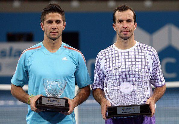Verdasco y Stepanek final del ATP 250 de Brisbane 2009