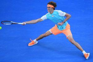 Alexander Zverev en el Open de Australia