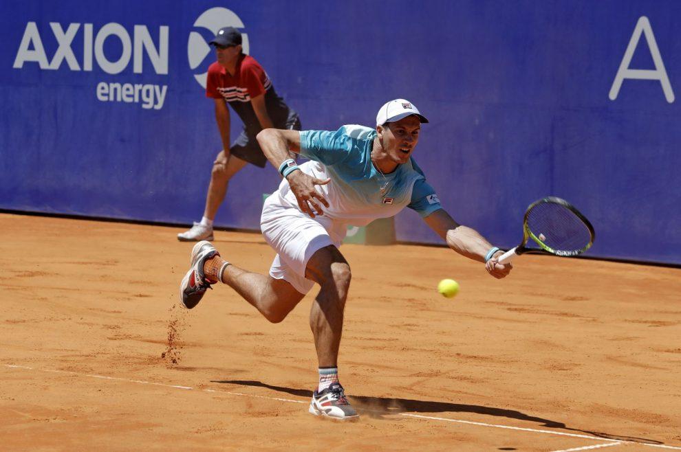 Facundo Bagnis en el Argentina Open