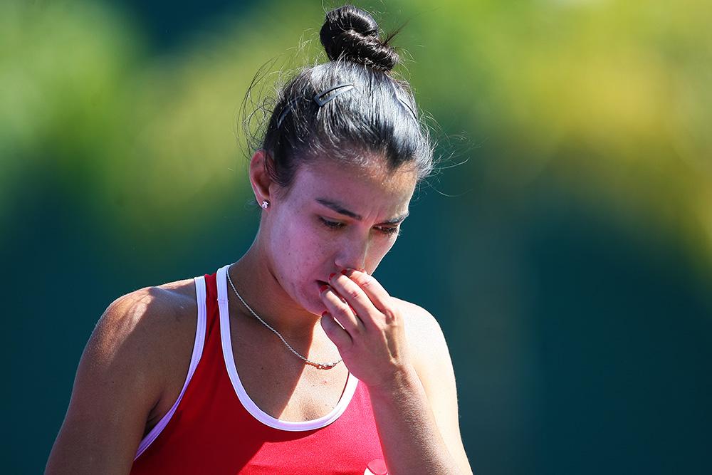 Verónica Cepede Royg con Paraguay en la Fed Cup