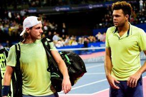 Tsonga y Pouille salen juntos en el ATP de Montpellier
