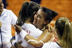 Paraguay celebra el triunfo en la Zona America Fed Cup