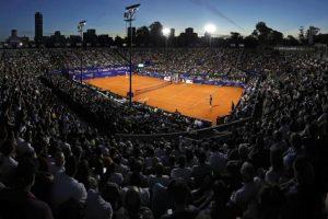 La pista central del Argentina Open en los cuartos de final
