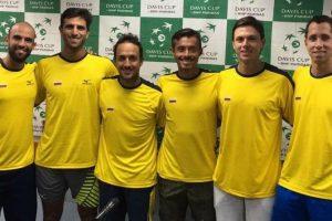 El equipo de Colombia en Copa Davis