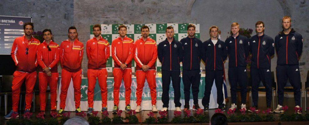 España y Gran Bretaña Copa Davis 2018