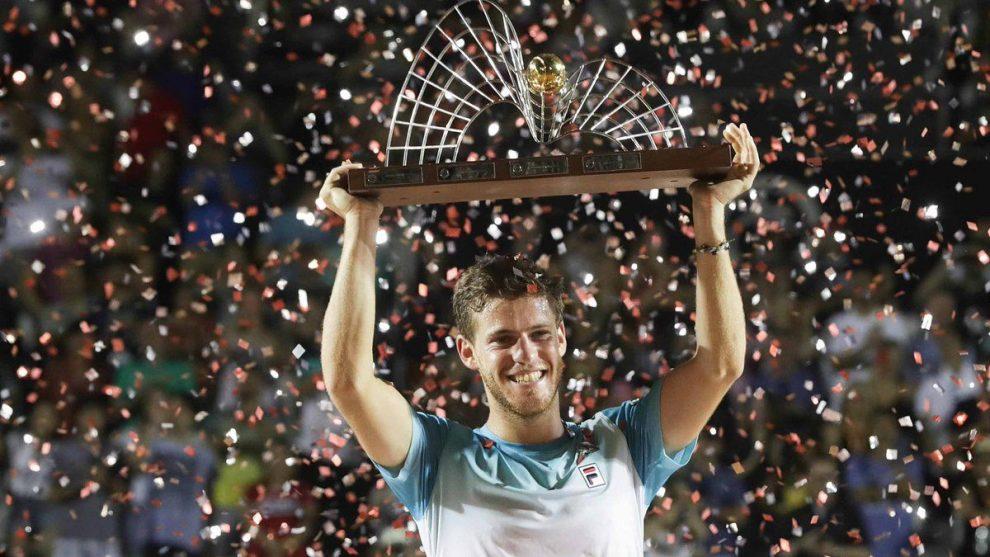 Diego Schwartzman levanta el título de campeón en el Rio Open