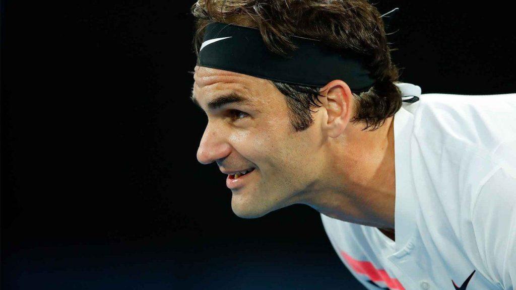 Federer en el ATP de Rotterdam