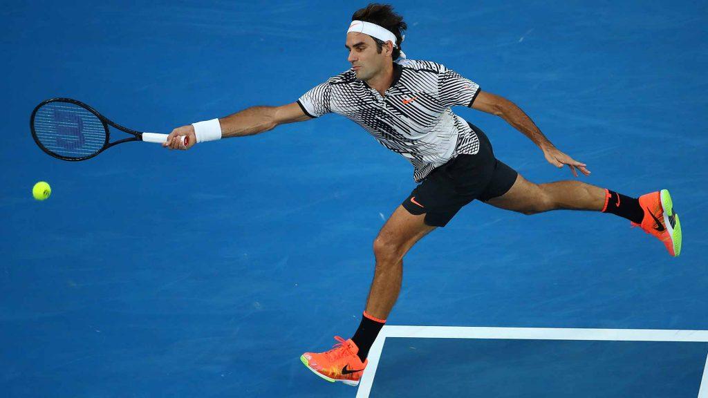 Federer en el Open de Australia
