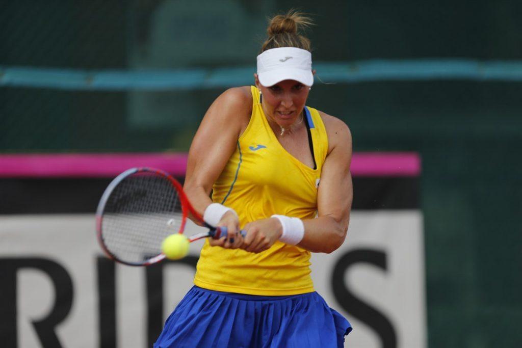 Haddad Maia en la Fed Cup con Brasil