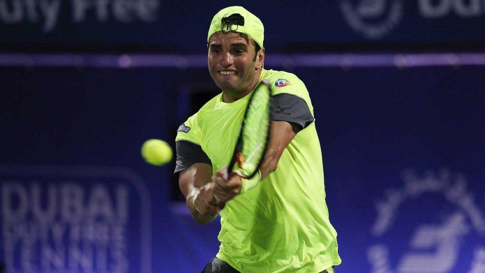 Jaziri en el ATP Dubai