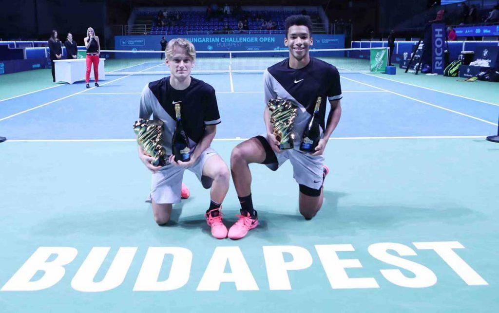 Kuhn y Auger Aliasimme campeones de dobles en el Challenger de Budapest