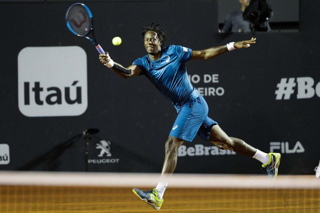 Monfils en el Rio Open