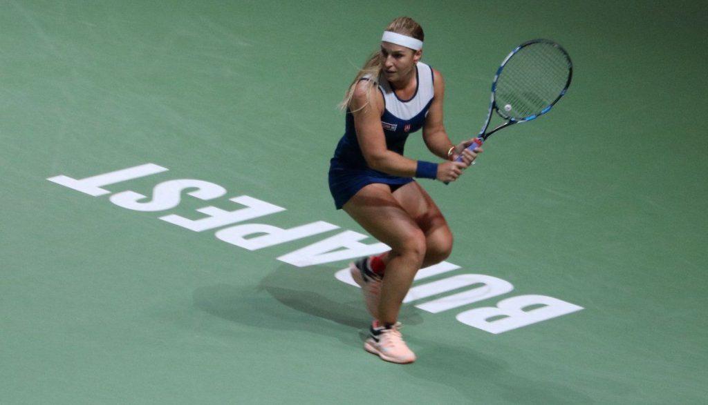 Cibulkova en el WTA de Budapest