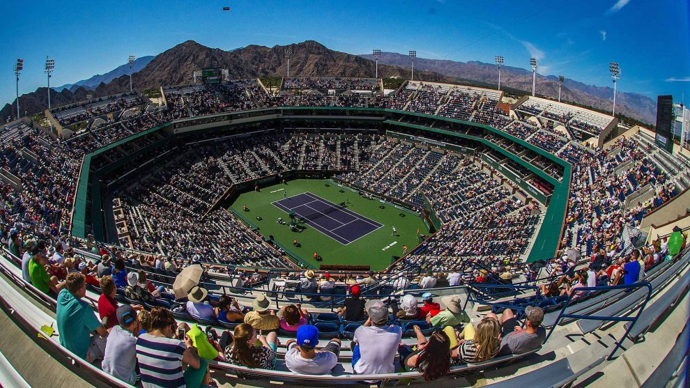 Pista central Indian Wells