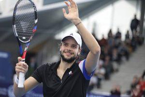 Barrere celebra el título en el Challenger de Lille