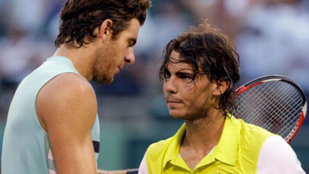 Del Potro Nadal Miami Open
