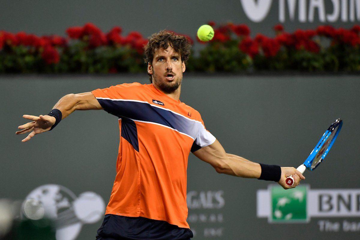 Feliciano López en el Masters 1000 de Indian Wells