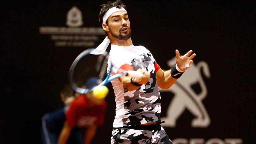 Fognini en el ATP de Sao Paulo