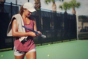 Francesca Cachin durante un entrenamiento