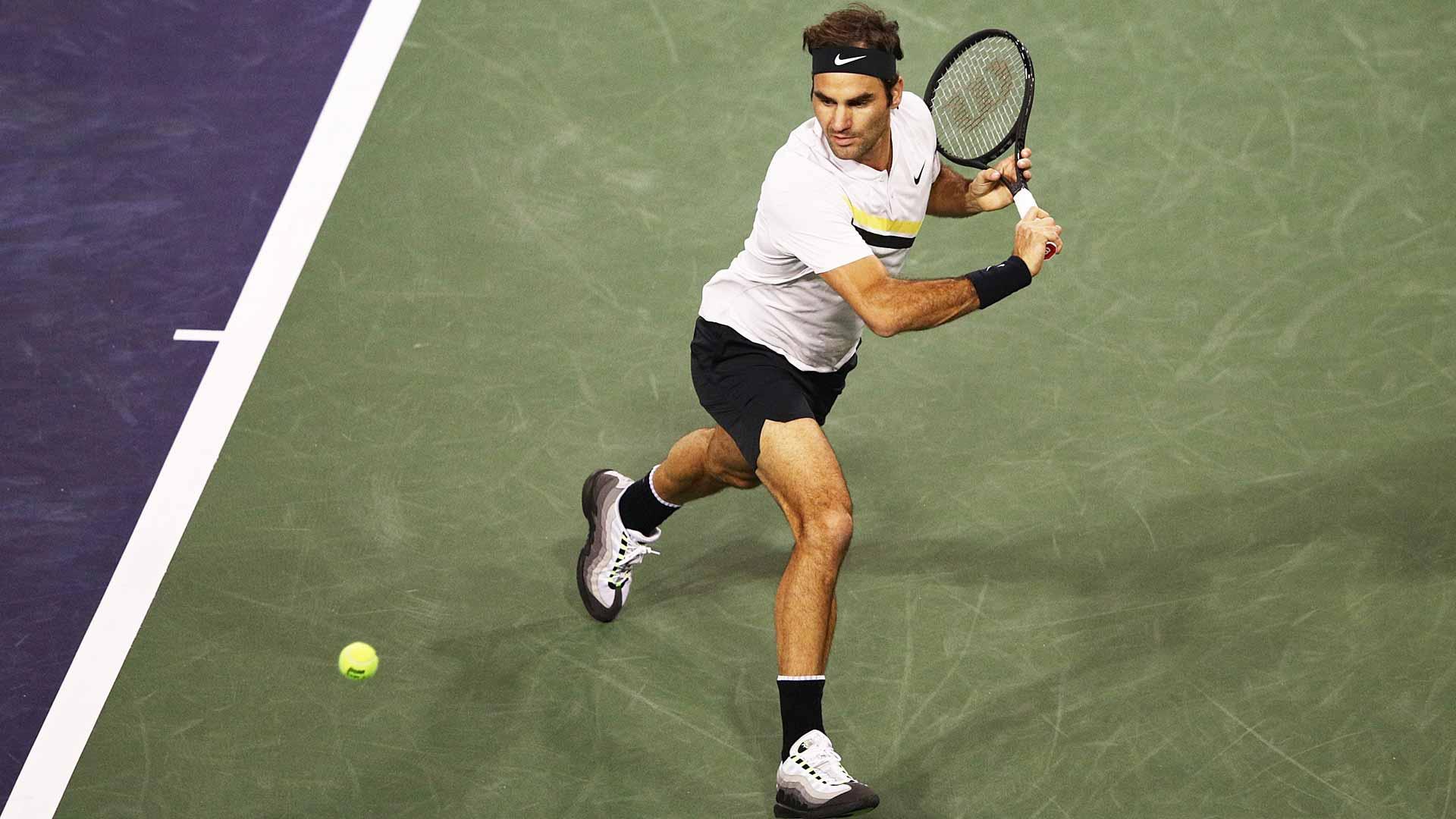 Federer en Indian Wells 2018