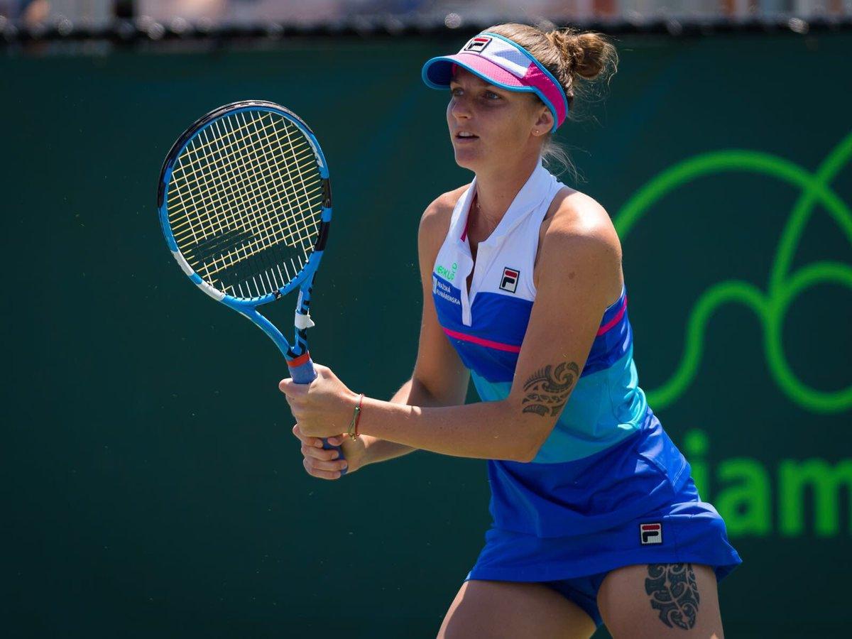 Karolina Pliskova en el Miami Open