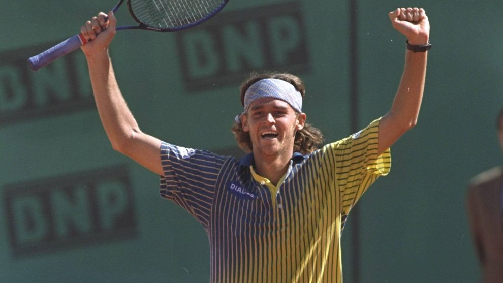 Gustavo Kuerten en Roland Garros