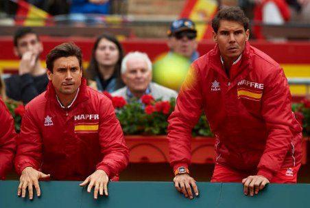 Ferrer y Nadal en la Copa Davis