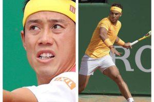 Nishikori y Rafa Nadal