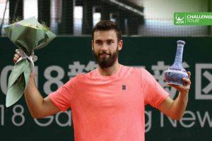 Halys con el título del Challenger de Nanchang