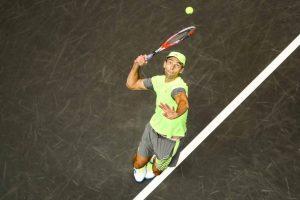 Karlovic sacando en el ATP de New York